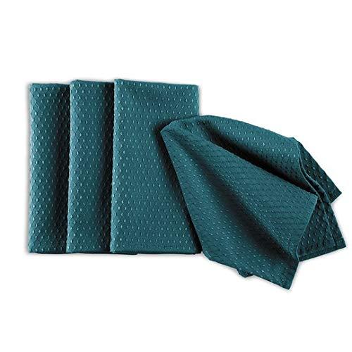 Norwex Napkins, Set of 4 (Peacock Blue)
