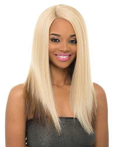 Janet Collection Super Flow Deep Part Lace Wig - MAY - BL...