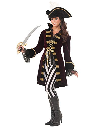 Forum Novelties Women's Captain Morgana Costume, Multi, Medium/Large ()