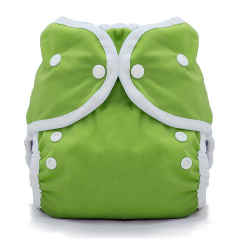 Thirsties Duo Wrap Cloth Diaper Cover- Snap - Meadow - Size 1