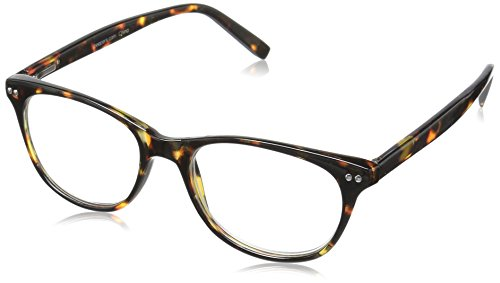 Peepers Finishing Touch 2187275 Cateye Reading Glasses, Tortoise, 2.75