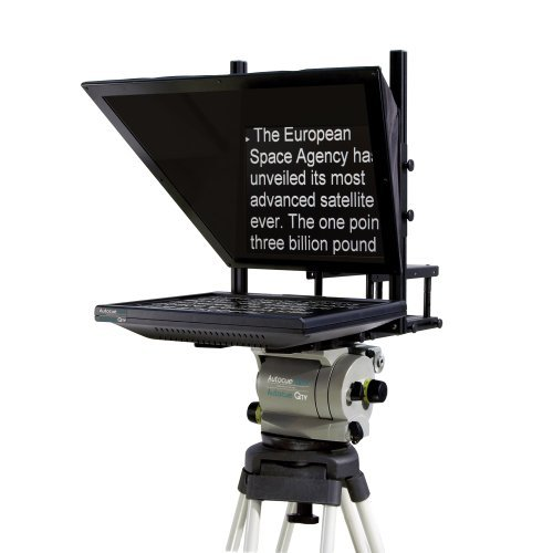 Autocue QTV 17'' Teleprompter Starter Series Package by Autocue QTV