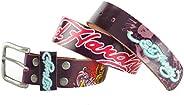 Ed Hardy EH3103 Colored Koi-Kids Girls-Leather Belt
