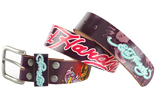 Ed Hardy EH3103 Colored Koi-Kids Girls-Leather (Ed Hardy Fashion Belt)