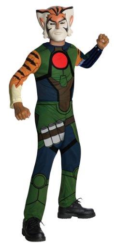 ThunderCats Tygra Child Costume Size Large (Thundercat Halloween Costume)