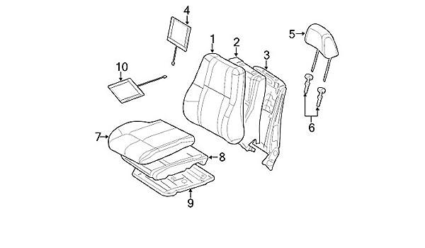 chrysler oem jeep seat heater pad 04610230af image 10: amazon ca: automotive