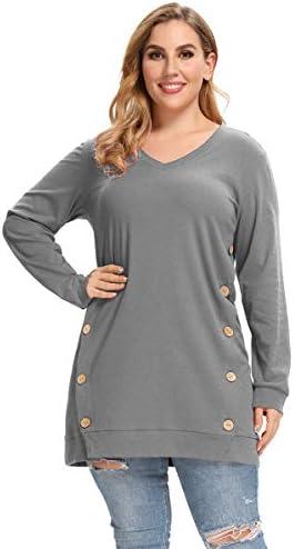 Button design sweatshirt _image2