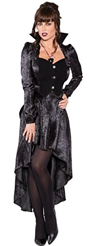 Underwraps Costumes Women's Sexy Vampire Costume - Eternal Kiss, Black, Medium