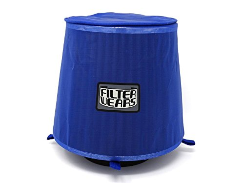 FILTERWEARS Pre-Filter F102L For SPECTRE Air Filters 8132 8136 K&N RG-1001; BLUE