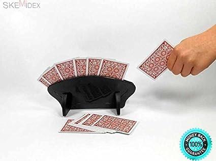 Amazon SKEMiDEX 2 Fan Free Standing Playing Card Holder