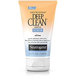 Neutrogena Deep Clean Gentle Face Scrub, 4.2 Fl. Oz.