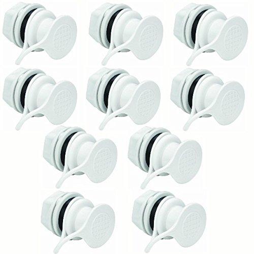 Igloo Cooler Replacement Standard Triple Snap Drain Plug (10-Pack)