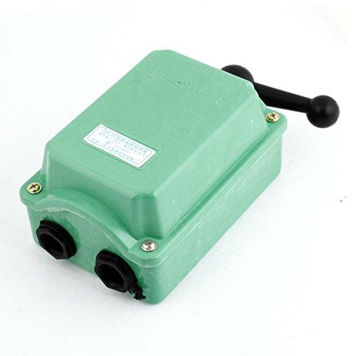 Uxcell a14022600ux0359 QS-30 Model AC 380V 30A Forward Reversing Drum Switch Cam Starter