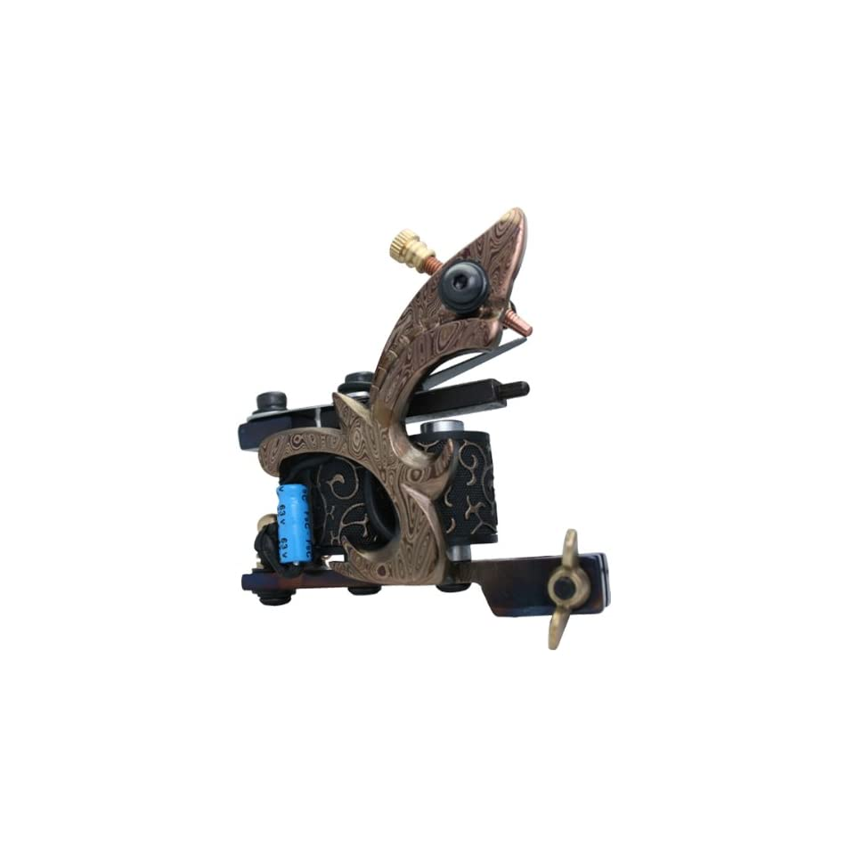 Damascus Steel Custom Tattoo Machine Liner Gun F Power e010726