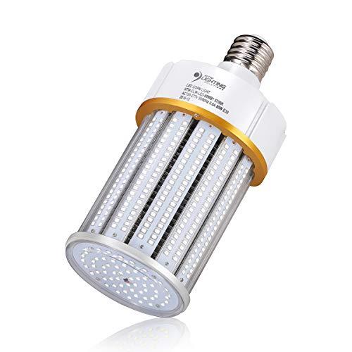 Multi 400w Mh Tap (80W LED Corn Light Bulb (250-400 Watts Metal Halide/HPS Replacement), Large E39 Mogul Screw Base, UL-Listed & DLC Qualified, LED Street Lighting, LED High Bay Lighting (5700K Daylight White))