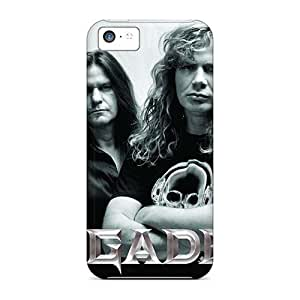 Shock-Absorbing Cell-phone Hard Covers For Iphone 5c With Provide Private Custom HD Foo Fighters Skin KerryParsons