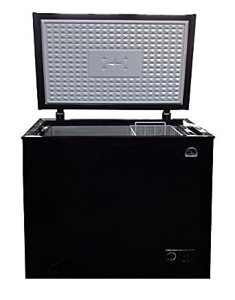 igloo frf705 black 7 1 cu ft chest freezer. Black Bedroom Furniture Sets. Home Design Ideas
