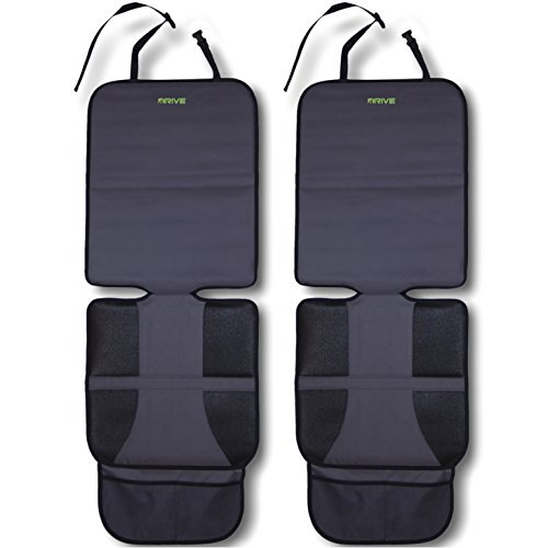 Drive Auto Products Car Seat Protector (2-Pack) Best Protection for Child & Baby Cars Seats, Dog Mat - Ultimate...