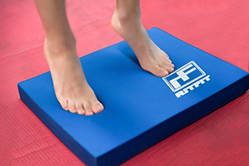 Ritfit Balance Foam Pad TPE Non Slip Balance Pad Best For Yoga, Workout Training and Physical Therapy Exercises