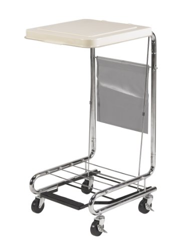 Drive Medical Hamper Stand, Chrome