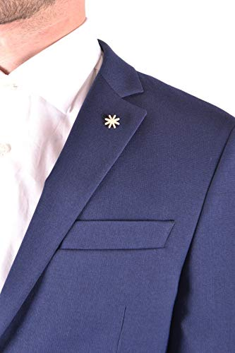 Polyester Homme Mcbi32008 Manuel Bleu Ritz Costume nW4CfIq