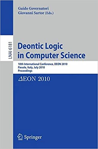 Deontic Logic in Computer Science: 10th International