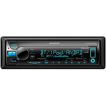 kenwood KDCBT565U CD Single DIN In-Dash Bluetooth Car Stereo Receiver