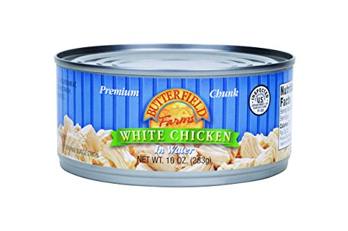 Butterfield Farms Premium Chunk White Chicken, 10 Ounce (Pack of 12)