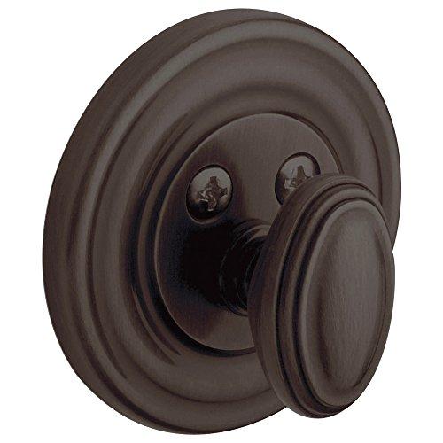 Baldwin Estate 8231.112.PAT Low Profile Traditional Single Cylinder Deadbolt in Venetian ()