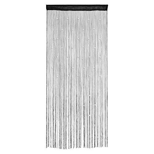 uxcell Door Window Hanging Bead Decorative String Line Curtain Valance 100 x 200cm (Decorative Beaded Trim)