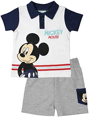 Disney Mickey Baby Boy Completo Manica Corta