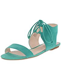 Nine West Women's Jadlin Leather Dress Sandal