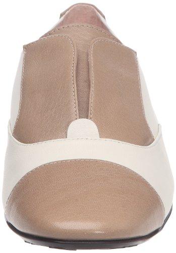 Pretty Ballerinas 40732, Donne Piatto Beige (gueta Birre / Coton Sabbia)