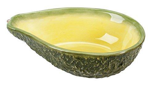 Home Gourmet Collection Small Ceramic Avocado Serving Bowl