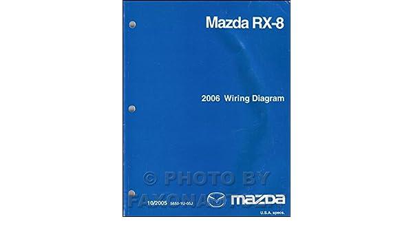 2006 mazda rx8 wiring diagram 2008 mazda rx 8 wiring diagram original mazda amazon com books  2008 mazda rx 8 wiring diagram original