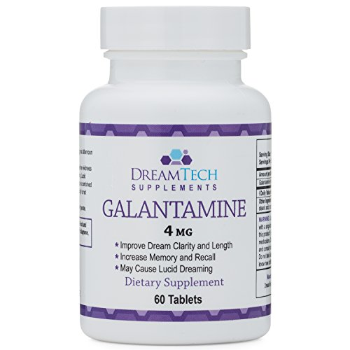 Galantamine - Lucid Dreaming & Nootropic Supplement - 4 Mg - 60 Tablets by Double Wood Supplements (Image #2)