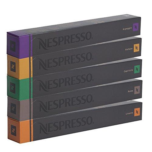 NESPRESSO-Espresso-Surtido-50-Cpsulas-10-Cpsulas-Volluto-10-Cpsulas-Livanto-10-Cpsulas-Capriccio-10-Cpsulas-Roma-10-Cpsulas-Arpeggio