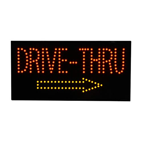 LED Drive Thru Open Light Sign Super Bright