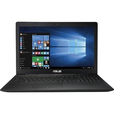 Asus 2016 Model 15.6-inch HD Laptop Premium High Performance | Intel Dual-Core | 4GB Memory | 500GB HDD | DVD+/-RW | HDMI | WiFi | Windows 10