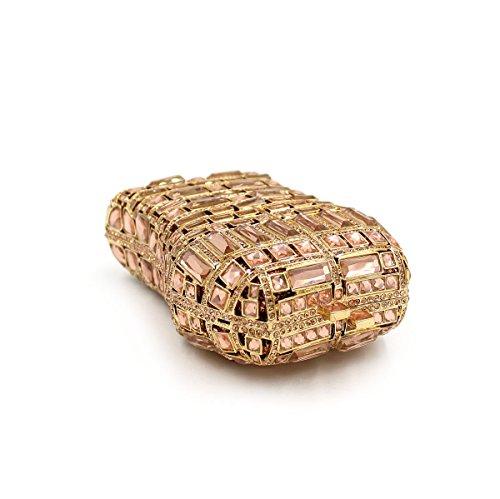 WYB Luxuxdiamantentwurfs Abendtasche Tasche / High-End-Kristall-Beutel / Damen Beutel / Kettenbeutel Braut