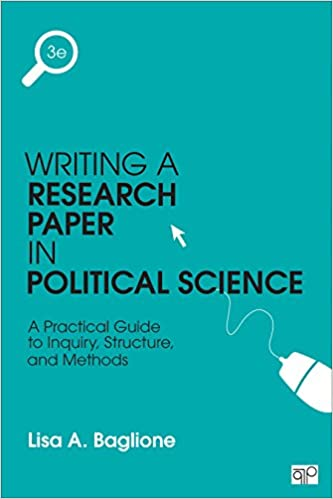amazon com writing a research paper in political science a  writing a research paper in political science a practical guide to inquiry structure and methods 3rd edition