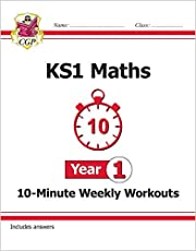 KS1 Maths 10-Minute Weekly Workouts - Year 1