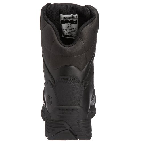 0 CT Unisex Force Saftey Magnum Boots 8 Leather Adults' CP Black Stealth OaS0Xq