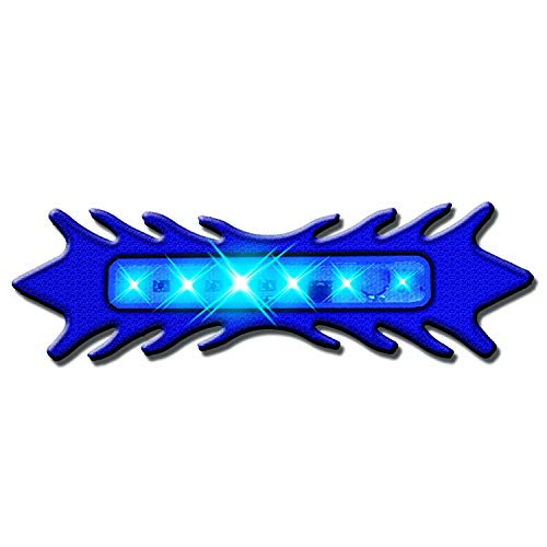 (Street FX 1041709 ElectroPods Blue Motorcycle Tribal Scan Pod)