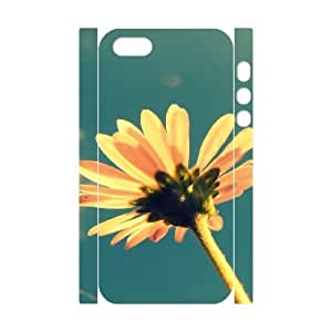 3D Small Yellow Flower In The Sun Case For Iphone 6 Plus 5.5 Inch Cover Cases For Girls, Case For Iphone 6 Plus 5.5 Inch Cover Teen Girls Cheap [White]