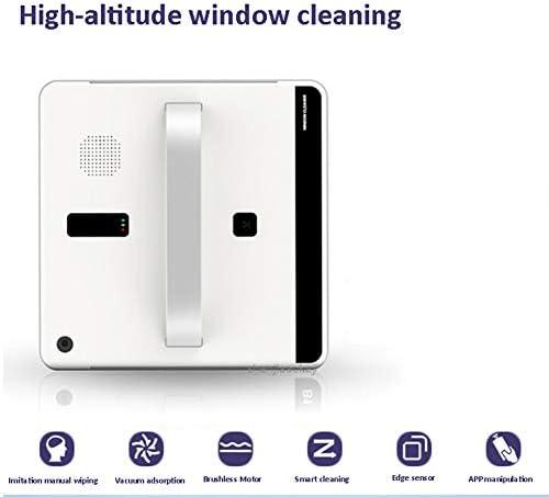 WNTHBJ Fenêtre Aspirateur Robot Intelligent Nettoyage de vitres Télécommande Haute Aspiration Anti-Chute Laveuse Robot Sweeper 110V-220V