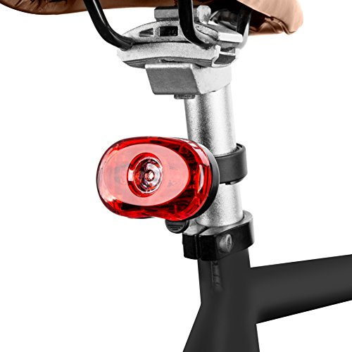 SAMLITE Best Brightest LED Bike Light Set for Kids & Adults, Super Bright Bicycle Headlight, Free Tail Light Included, Water Resistant Bike Light, Easy To Install, Multiple Modes for Cycling Safety by SAMLITE (Image #2)