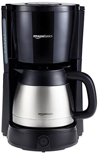 AmazonBasics-Filterkaffeemaschine-Leistung-1000-W-fr-8-Tassen-1-l-Thermoskanne