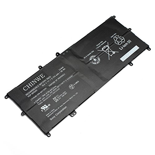 (New 15V 48wh Laptop battery BPS40 for Sony Vaio Flip SVF 15A SVF15N17CXB 14A SVF14NA1UL)
