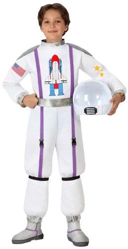 Atosa-16013 Disfraz Astronauta, color blanco, 5 a 6 años (16013)